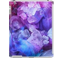 Purple, blue and pink ice dye iPad Case/Skin