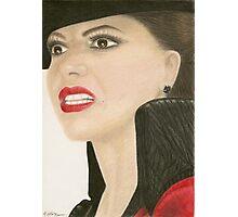 The Evil Queen portrait Photographic Print