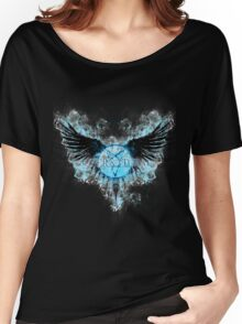 Supernatural Ghostly Angel  Women's Relaxed Fit T-Shirt