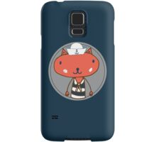 Nautical Adventures: Sailor Cat Samsung Galaxy Case/Skin