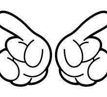 Mickey Hands by DI-MI