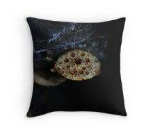 Meringue Fungi Throw Pillow