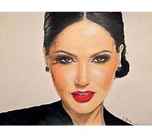 Portrait of Lana Parrilla Photographic Print