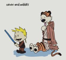 Calvin And Hobbes Star Wars by Hicithor