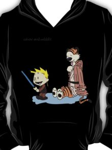 Calvin And Hobbes Star Wars T-Shirt