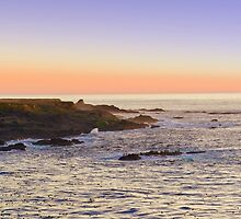 Point Cabrillo lighthouse, Mendocino Ca by SK Lorenzen