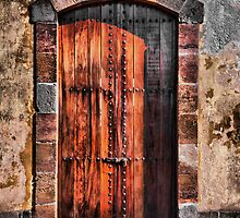 Old Door by Bernai Velarde