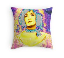Sacred Lady Throw Pillow