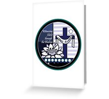 Witnessing Christ through the Dharma Greeting Card