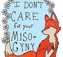 Feminist Fox by dxrth
