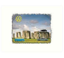 VW Landmark Art Print