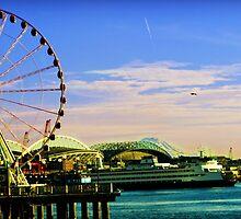 Seattle Waterfront by rayvensongphoto