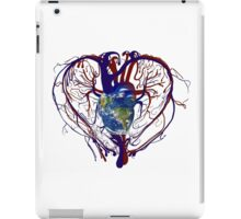 "Anatomical Kind ""Earth Heart"" Medical Circulatory Get Well Kindness iPad Case/Skin"