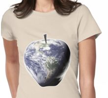 Big Apple, Earth, NYC, Healthy Planet, Nutrition, Fitness, IPhone Home Womens Fitted T-Shirt