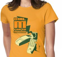 DIAL M... Womens Fitted T-Shirt