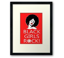 Black Girls Rock - Tshirts & Hoodies Framed Print