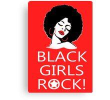 Black Girls Rock - Tshirts & Hoodies Canvas Print