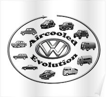 Aircooled VW - Evolution Poster