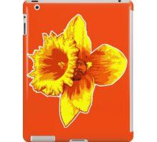 Blood Orange Atomic Daffodil, Fire Flower, Apocalyptic Garden iPad Case/Skin