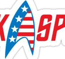 Kirk Spock 2016 Sticker