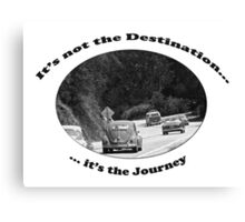 Classic Aircooled VW - Journey Canvas Print