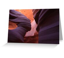 Guardian Angel, Antelope Slot Canyon, Arizona Greeting Card