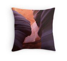 Guardian Angel, Antelope Slot Canyon, Arizona Throw Pillow