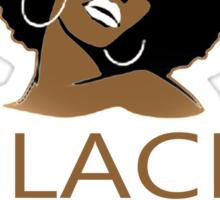 Black Girl Head - TShirts & Hoodies Sticker