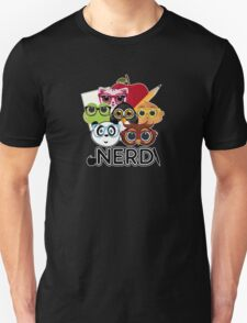Nerd 3 - Black T-Shirt