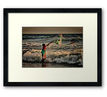 Mexican Net Fisherman Framed Print