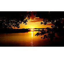 Maroochy River Sunrise, Sunshine Coast Photographic Print