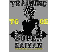 TRAINING TO GO SUPER SAIYAN! Photographic Print