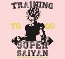 TRAINING TO GO SUPER SAIYAN! Kids Clothes