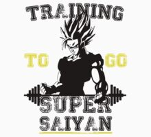 TRAINING TO GO SUPER SAIYAN! Kids Clothes
