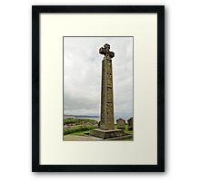 Caedmon's Cross, Whitby Framed Print