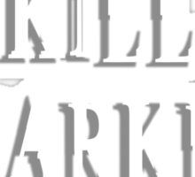 I Kill Sparkly Vampires - Shirt Sticker