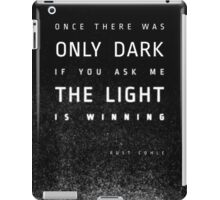 LIGHT vs. DARK iPad Case/Skin