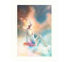 The Cloud Princess Art Print