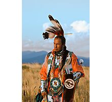 Native American Dancer Anthony Parker Photographic Print