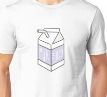 Milk Carton - purple Unisex T-Shirt