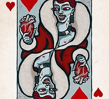 Mina Harker, Vampire Queen of Hearts by pixbyr