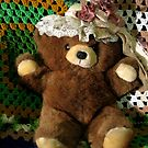 Rosey Bear by Linda Miller Gesualdo