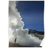 El Tatio Geysers, Atacama Desert, Chile Poster