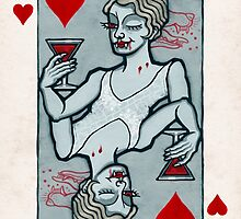 Lucy Westenra, Vampire Jack of Hearts by pixbyr