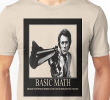 Clint Eastwood: Basic Math Unisex T-Shirt