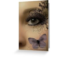 Butterfleye Greeting Card