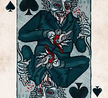 Knock, Vampire Jack of Spades by pixbyr