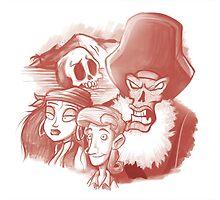 Monkey Island by Torquem