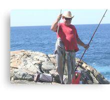 denmark fishing Canvas Print