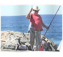 denmark fishing Poster
